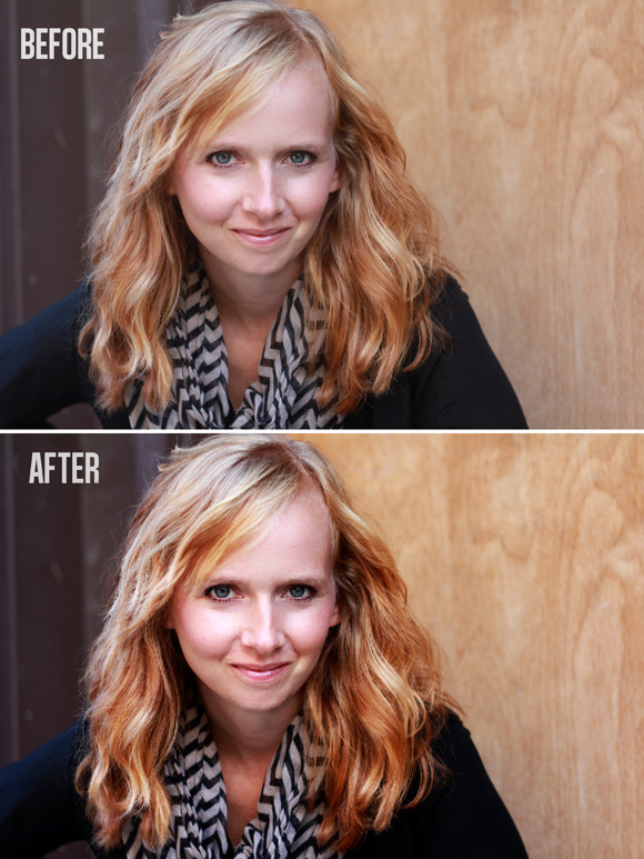 Photo Editing Before & After