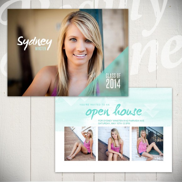 Fresh Hopes Graduation Template Card A