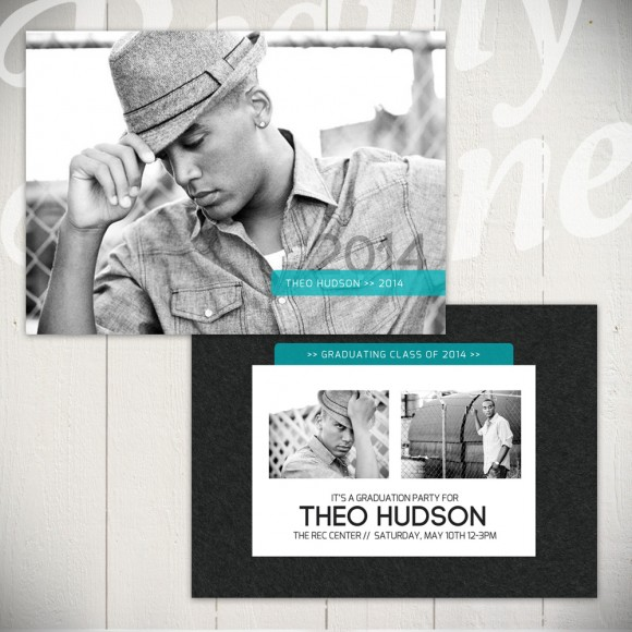 Hall of Fame Senior Card Template A