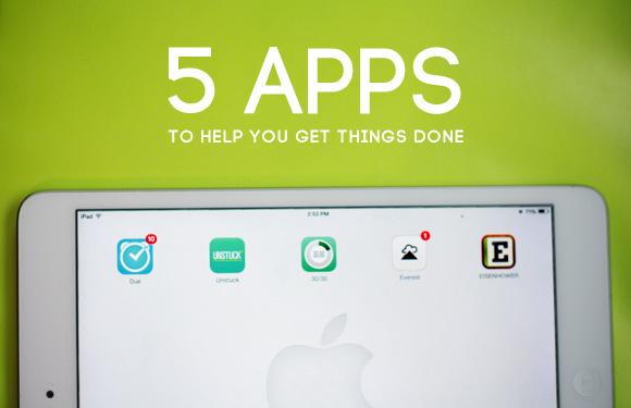 5 Productivity Apps