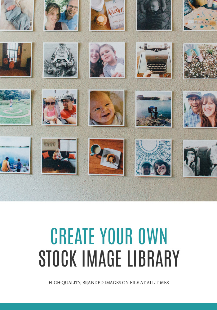 Create Your Own Stock Image Library