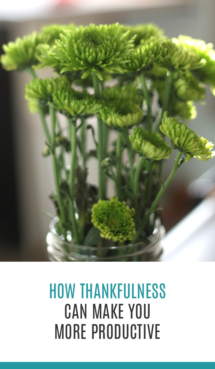How Thankfulness Can Make You More Productive