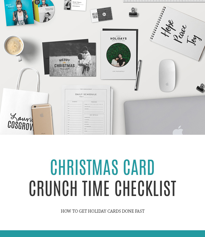 Christmas Card Crunch Time: How to Get Them Done FAST. — Laurie ...