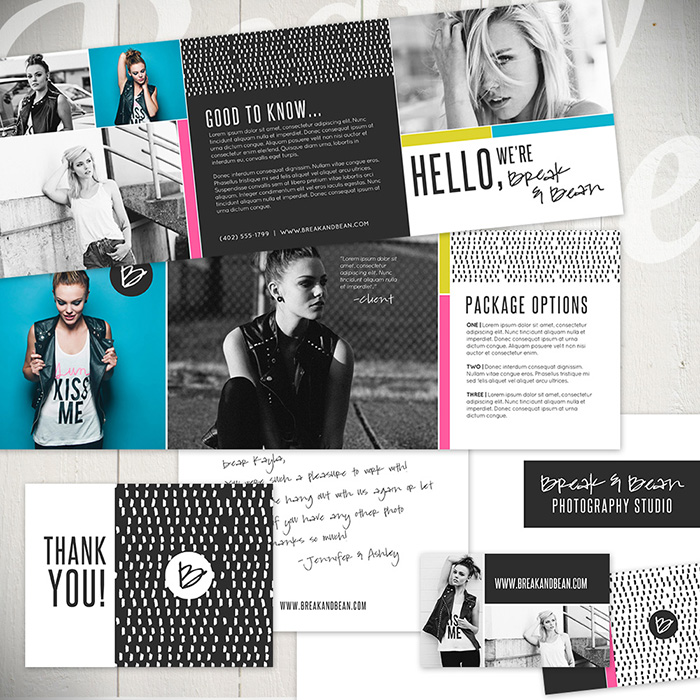 Branding starter templates by Laurie Cosgrove Design