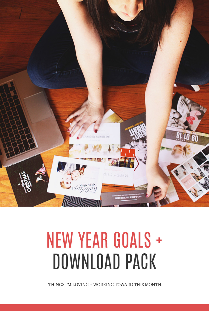 New Year Goals + Free Download Pack