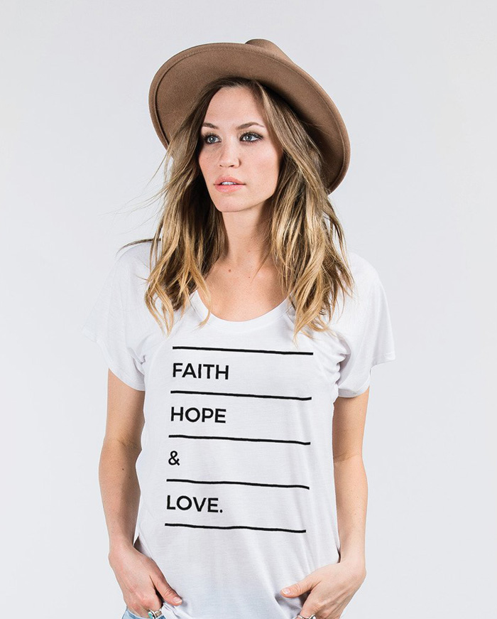 Sevenly - Faith Hope Love Tee