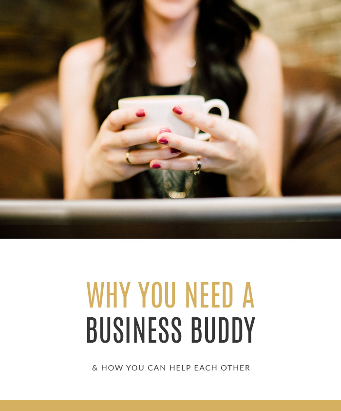 Why You Need A Business Buddy