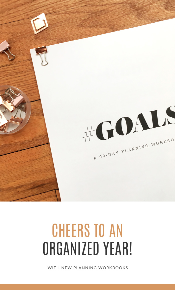 Goal & Content Planning Workbooks