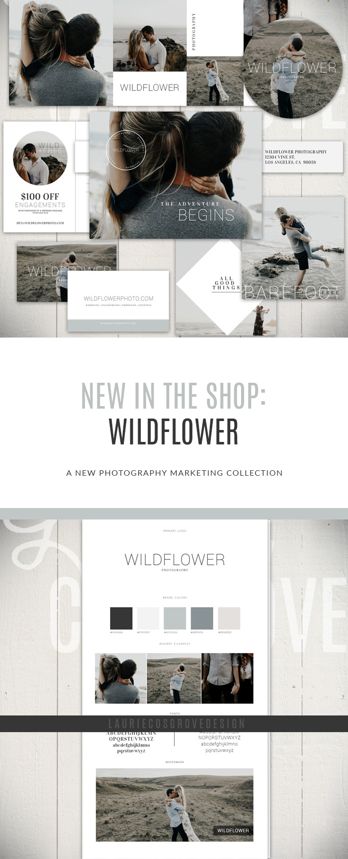 WILDFLOWER: A NEW PHOTOGRAPHY MARKETING COLLECTION