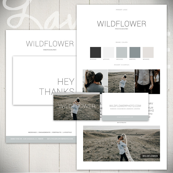 Brand Basics - The Wildflower Collection