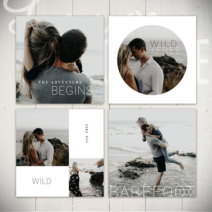 Instagram Templates -The Wildflower Collection