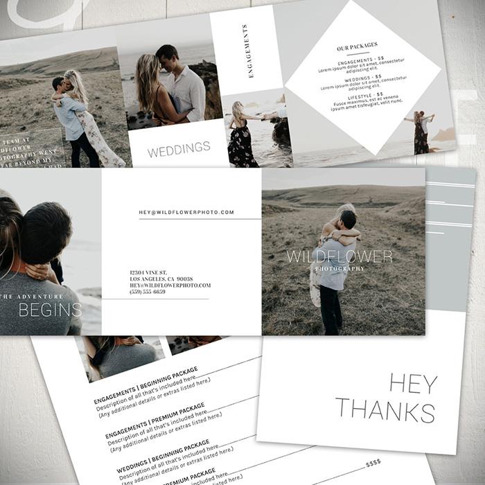 Wildflower Photography Marketing Set