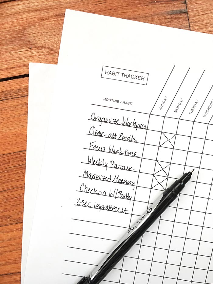 7 Habits That Propel You Forward (+Free Habit Tracker)