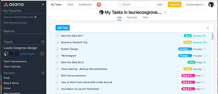 Batch Processing Tasks with Asana