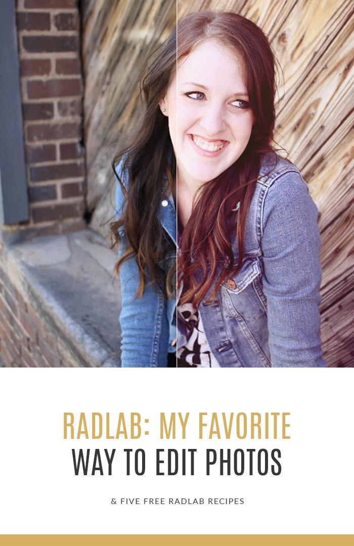 Radlab - My favorite way to edit photos