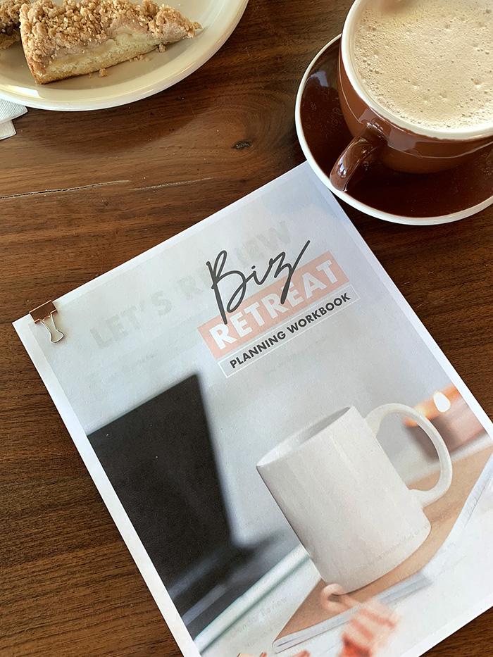 Business Retreat Planner - free printable