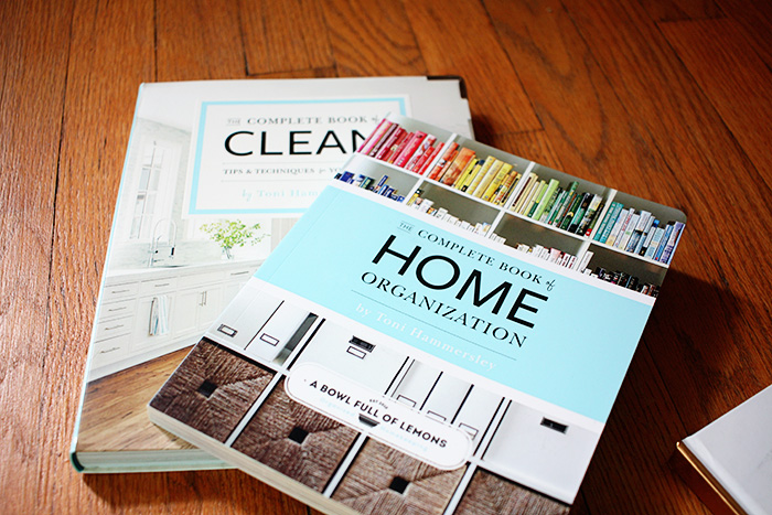 Complete Book of Home Organization & Complete Book of Clean by Bowl full of Lemons - April finds
