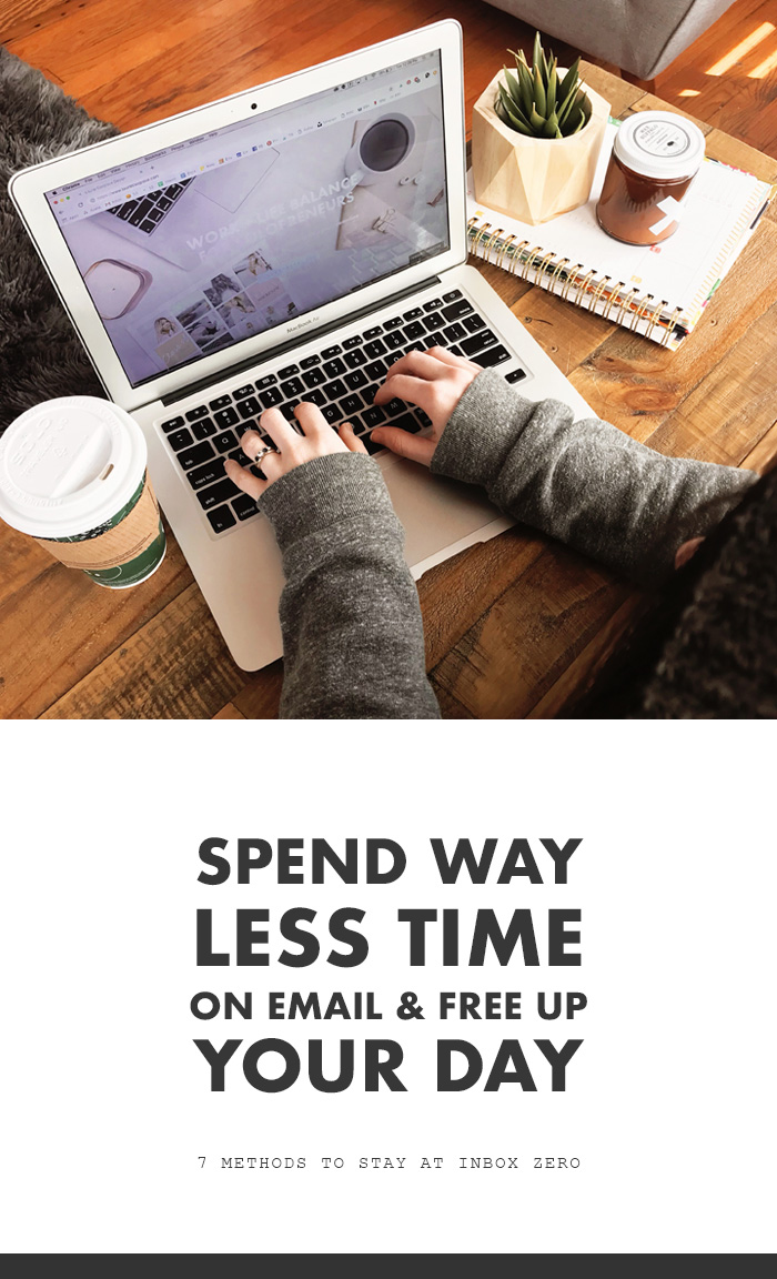 Spend Way Less Time on Email & Free Up Your Work Day - Time Saving Methods to Stay at Inbox Zero