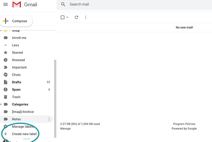 Email Labels in Gmail