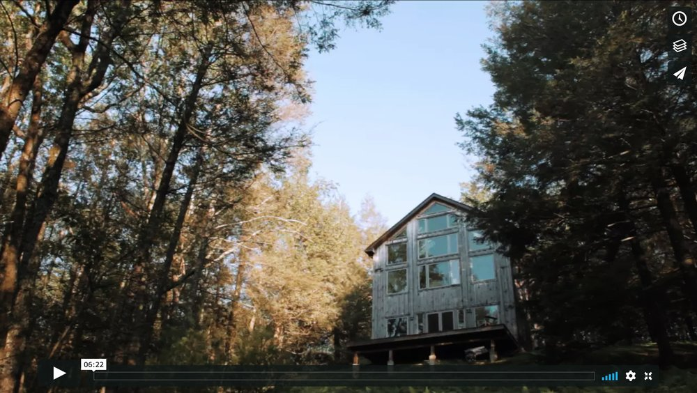 WAIF IN THE FOREST   The story of why I chose to renovate and live in my father's sustainable cabin in the woods. A video project about people and their homes by Yiqi Fan. Videography, storyboarding, and video editing by Yiqi Fan. Creative direction by E. Genevieve Williams.