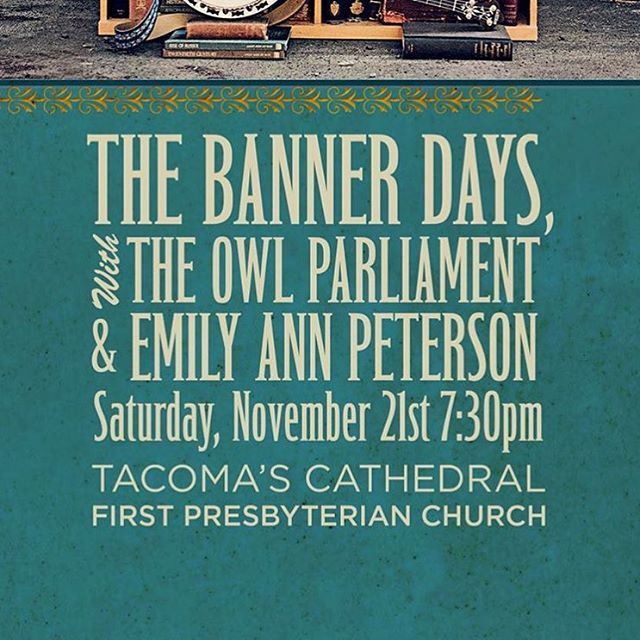 YOUGUYS. Tomorrow night we get to play in the most gorgeous cathedral in the new world. Bonus: we get to open up for @thebannerdays woo!
