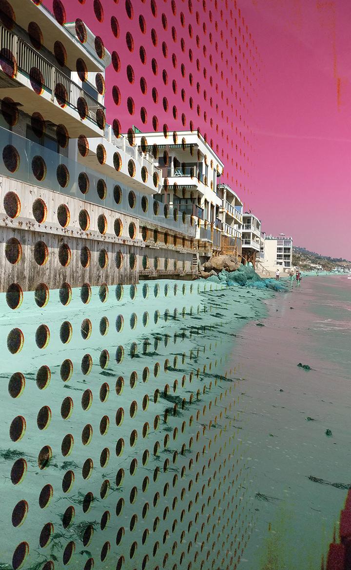 """Plastic Oceans - 30"""" X 50"""" Chromogenic Print 2018"""