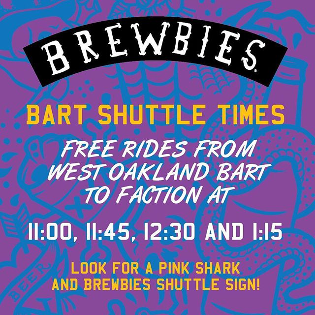 Don't drink and drive! We recommend taking a cab, Uber, BART, The Ferry, The Shuttle or ride your bike! 🚌🚕🚲🚎 ❤️
