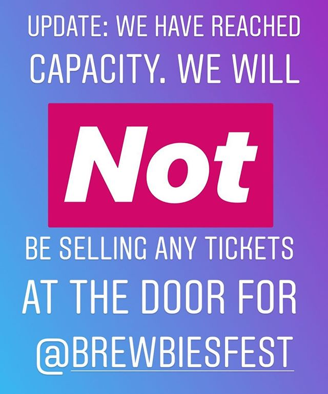 Sorry guys! We are full... we will not be able to sell any more tickets. We love you and thank you!