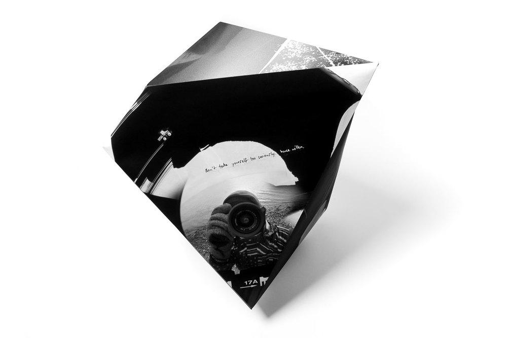 Melancholy Polyhedron. Portrait.