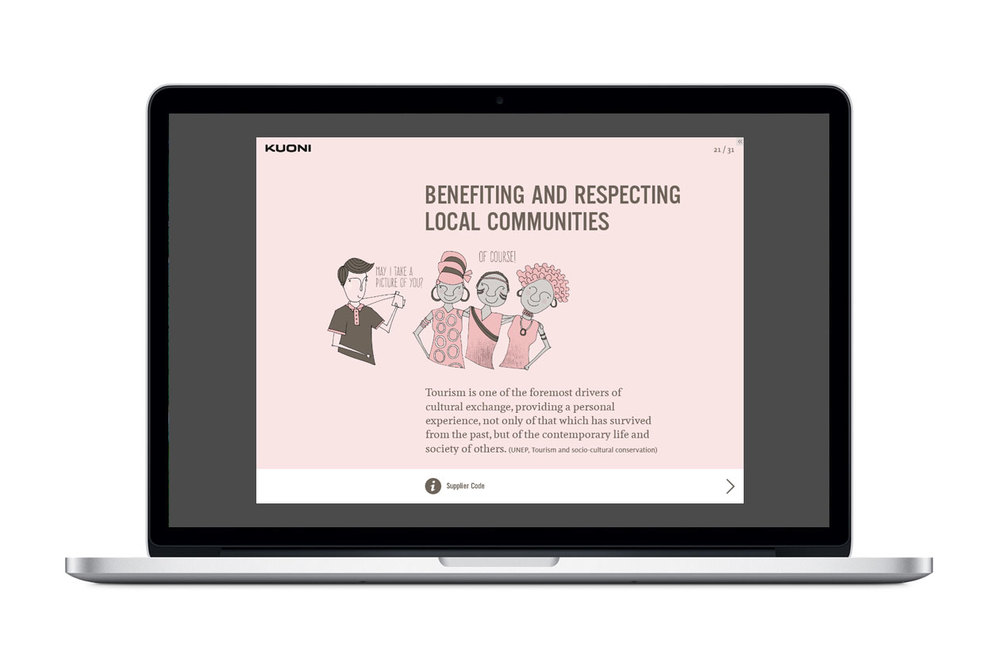 Supplier Code of Conduct E-Learning. Local Communities.