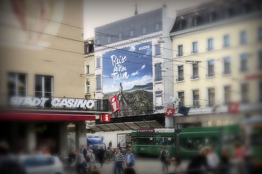 Reise deinen Traum – Campaign. Megaposter.