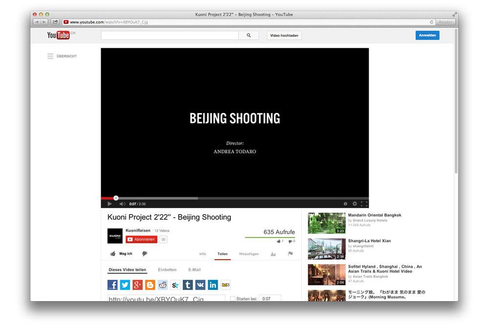 """Reise deinen Traum – Campaign. Project 2'22"""" Beijing."""