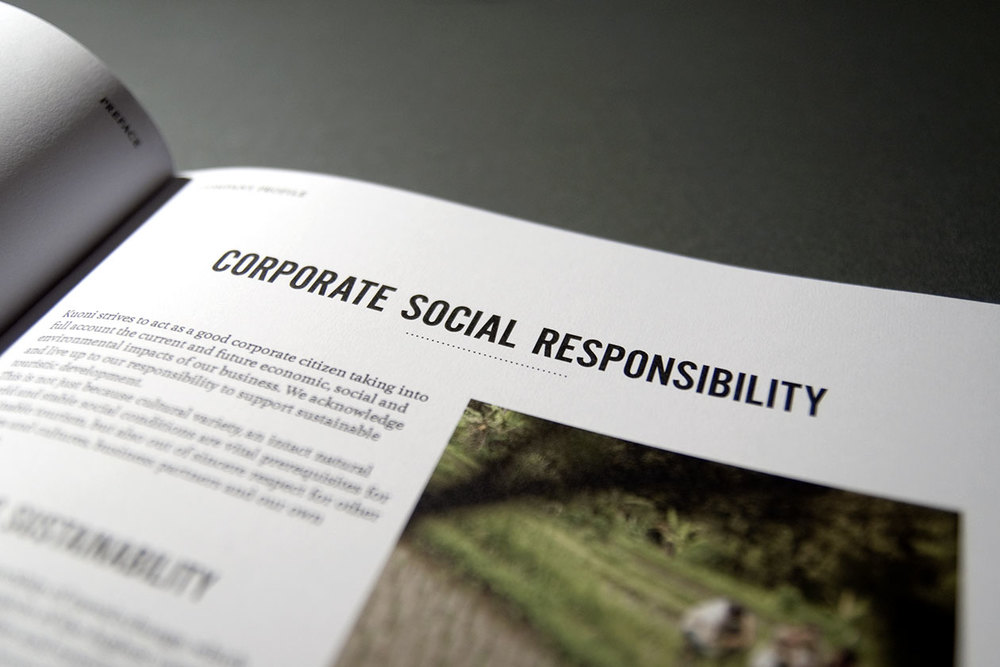 FIFA Tender Offer. Corporate Social Responsibility.