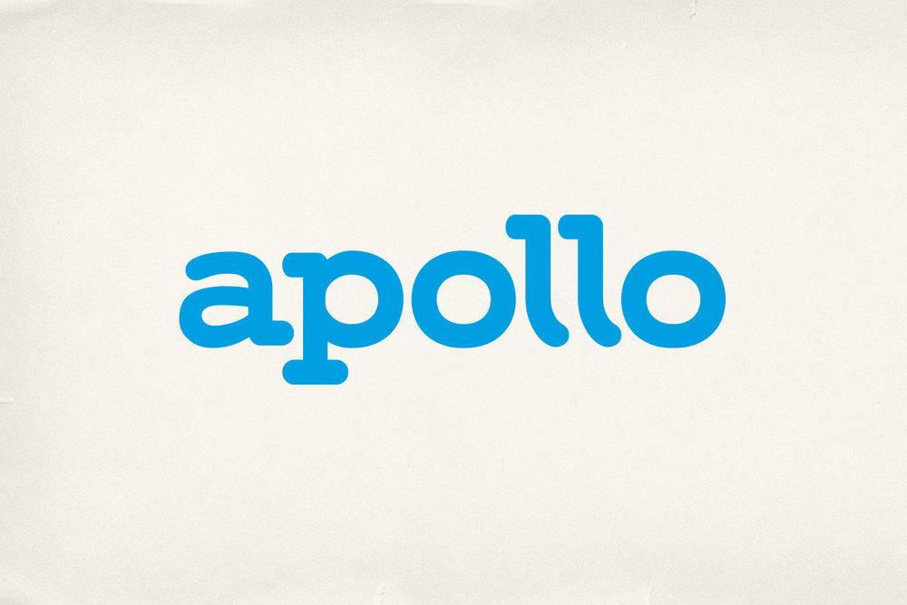 New Identity for Apollo. Logo.