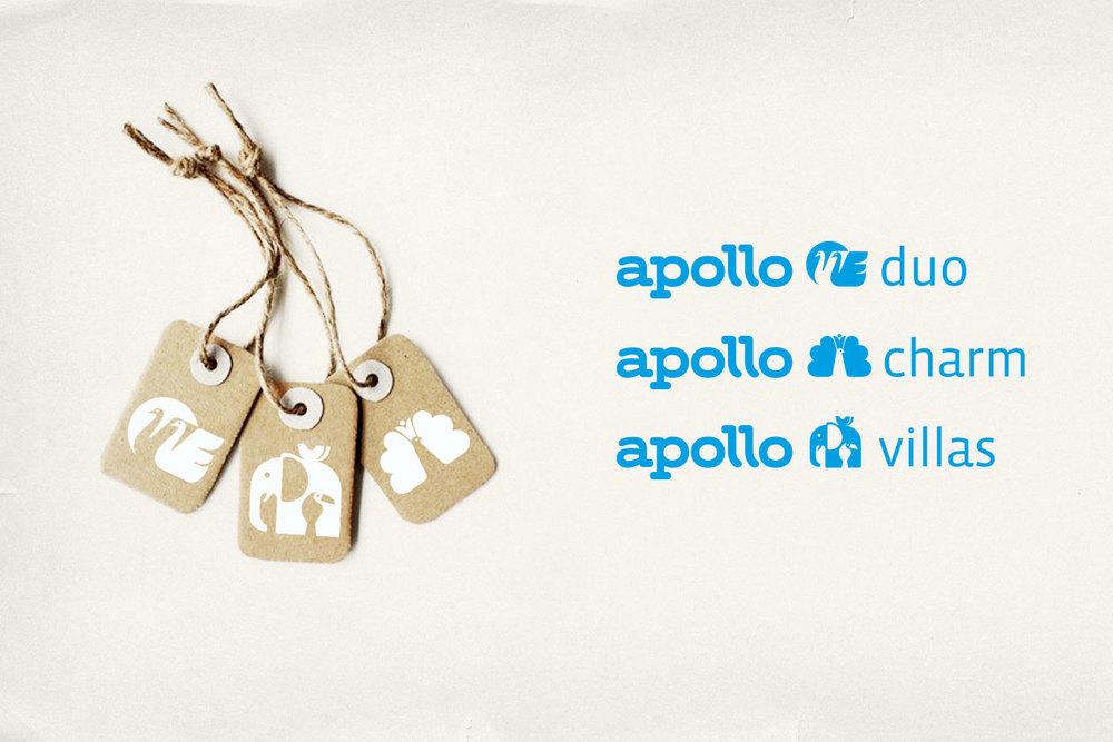 New Identity for Apollo. Segment Labels.