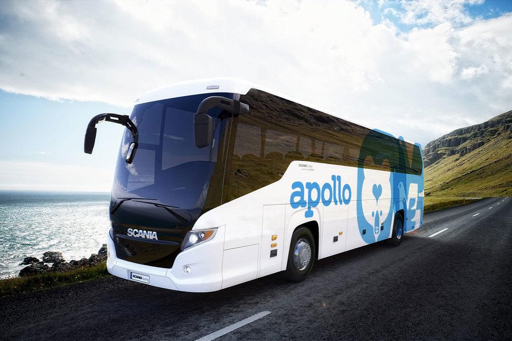 New Identity for Apollo. Coach.