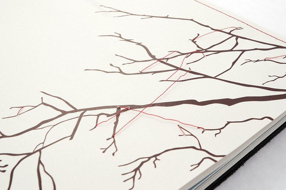 Space Between. Sew Paper.