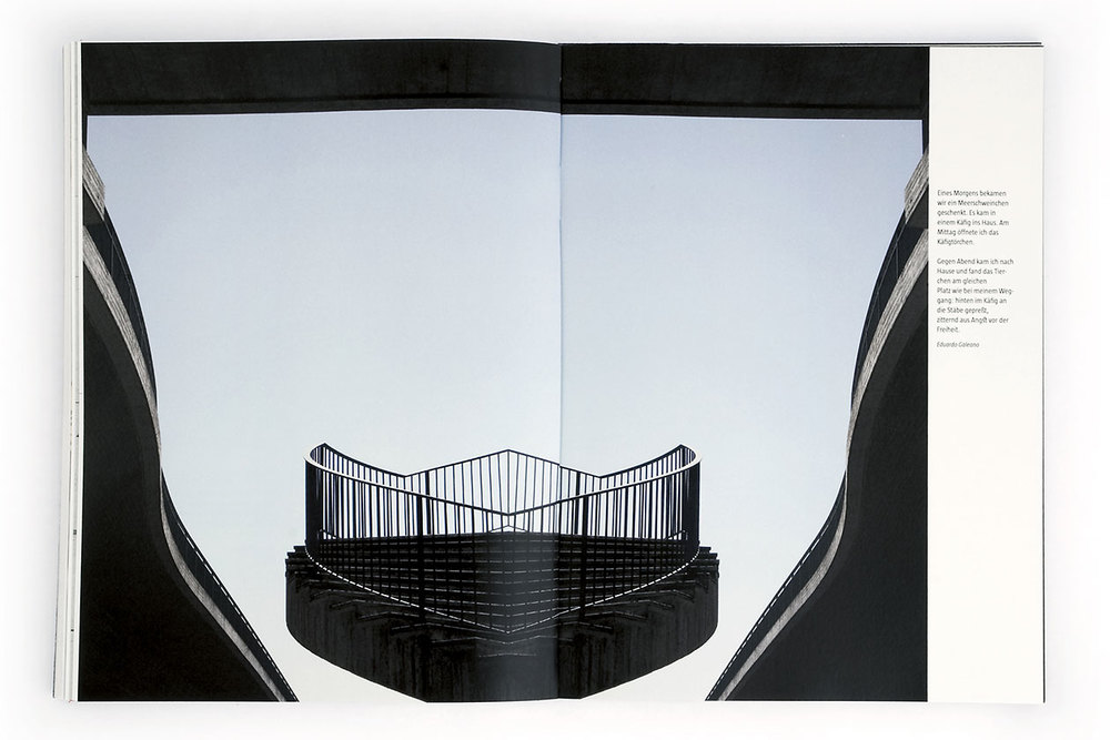 Space Between. Open Cage.