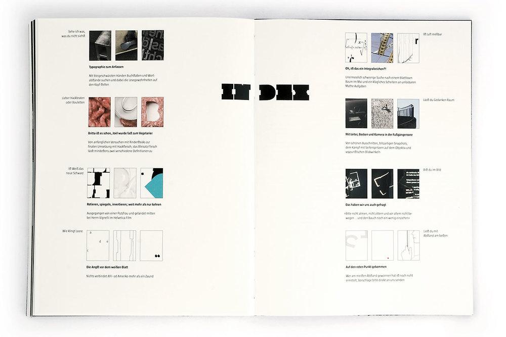 Space Between. Book Index.
