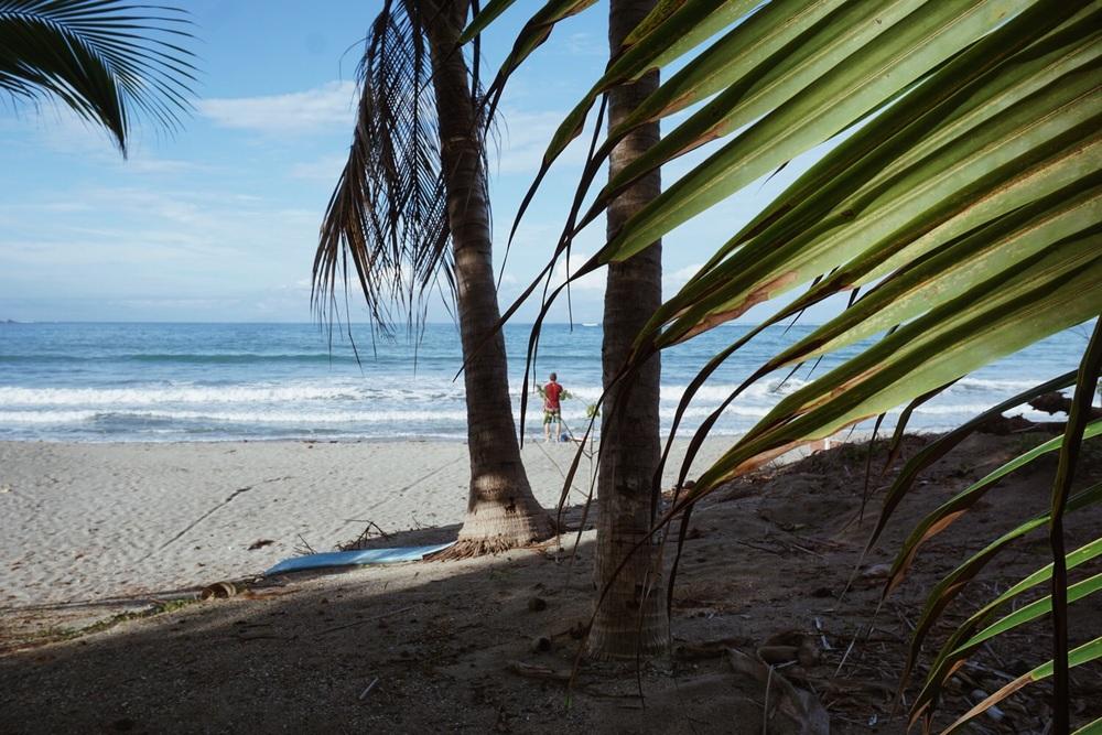 Am Strand in Sámara.