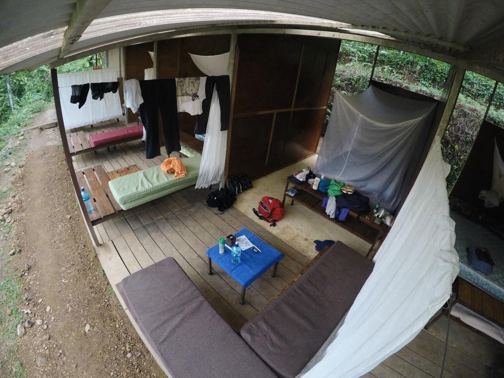 Unser Zimmer.