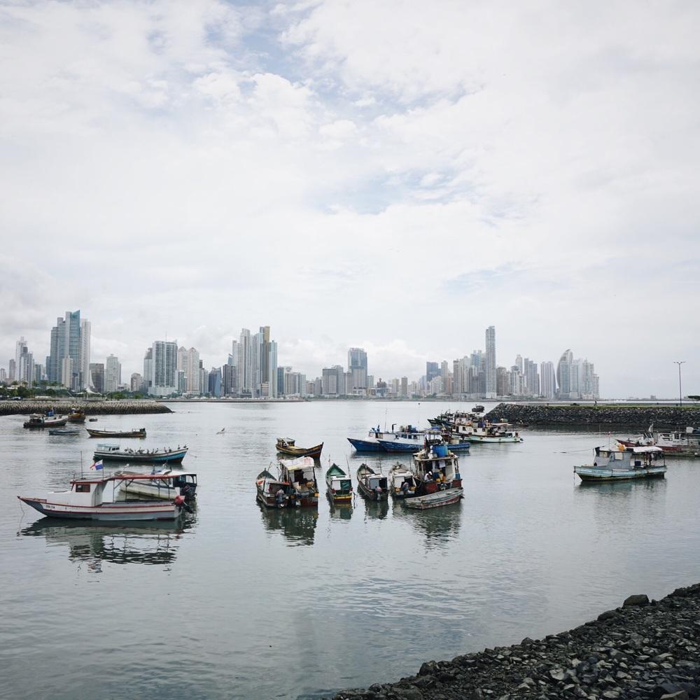 Skyline von Panama City.