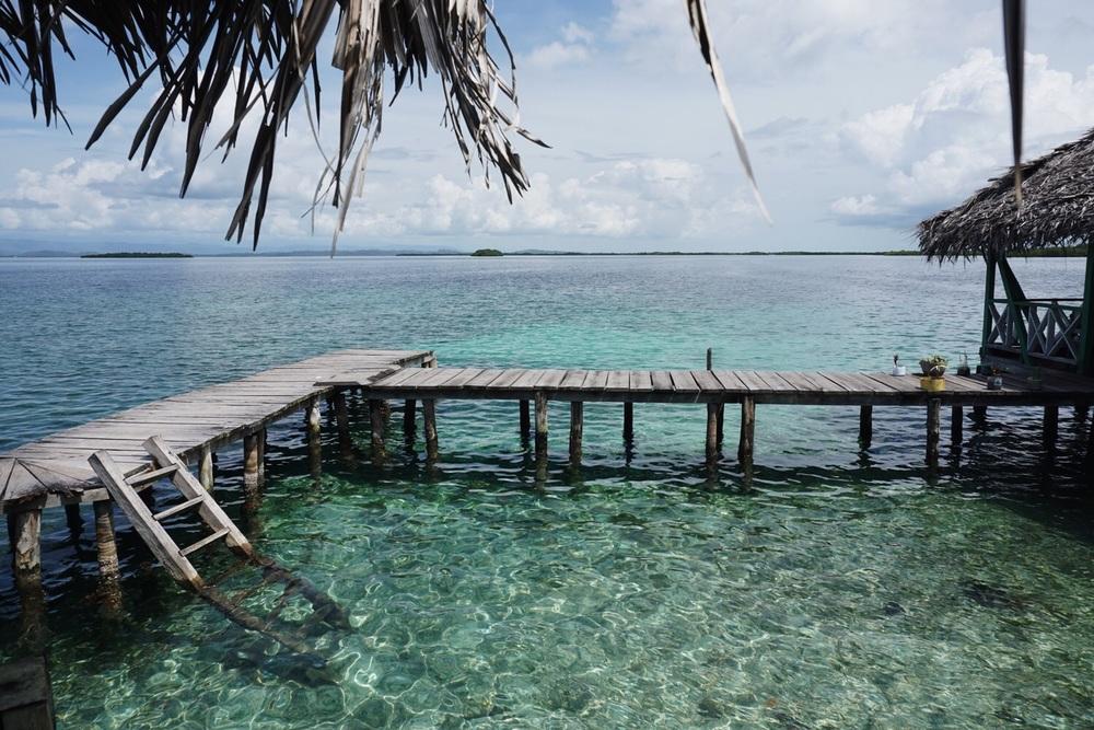 Zwischenstopp beim Cayo Coral.