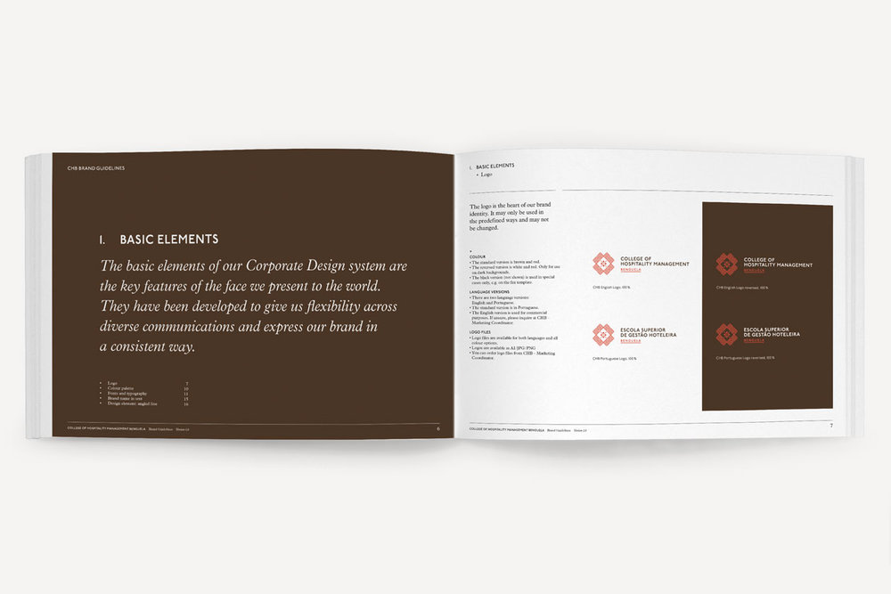 CHB. Brand Guidelines.