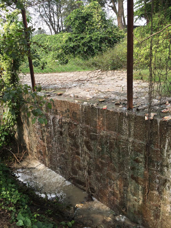 Dumping of toxic waste directly into the river with insufficient usage of water treatment plant.