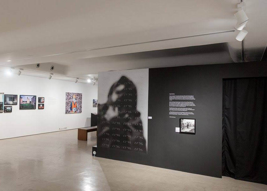 Exhibition: IN VISIBLE @ PIX, Nepal Issue. Goethe Institut, Mumbai, India 2017.