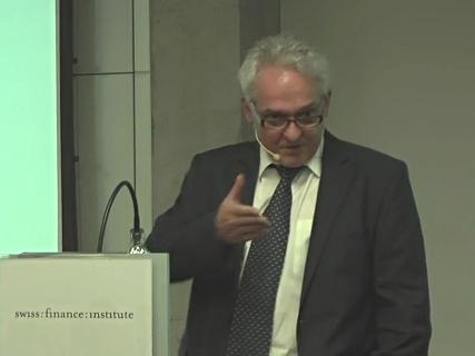 Prof.Berentsen am Swiss Finance Institute