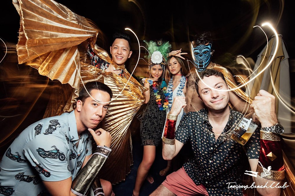 Barefoot Tiki Nights: Escape to Neverland