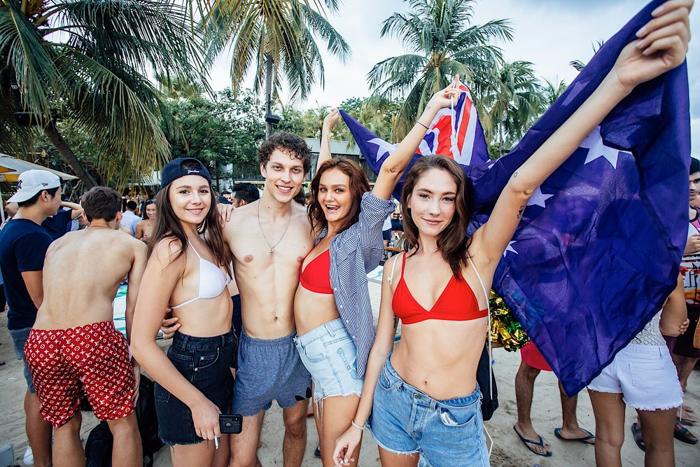 Smack My Beach Up: Australia Day '19