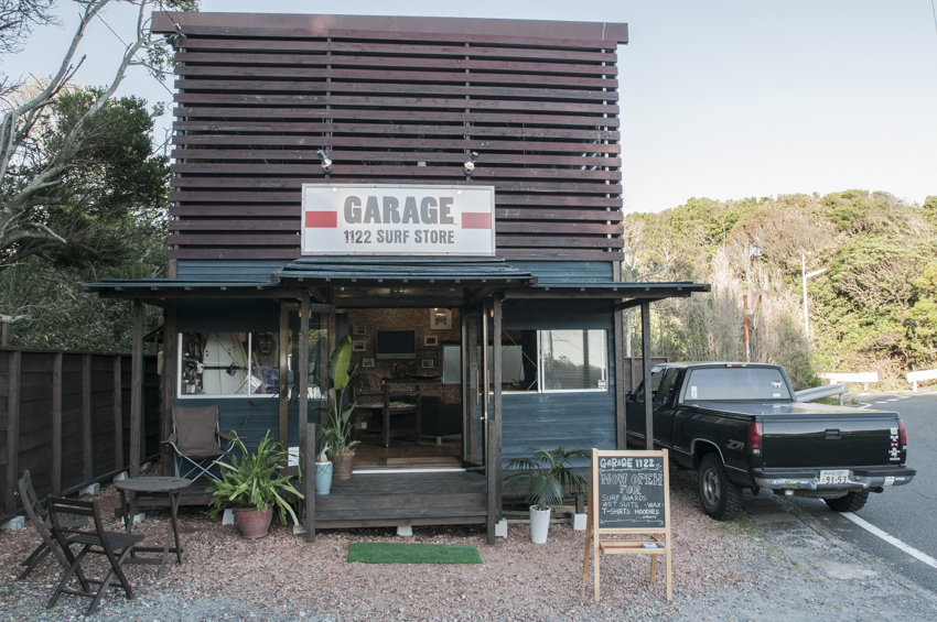 Factory and Show room [ GARAGE 1122 SURF STORE  ]